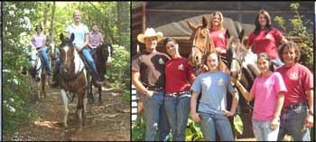 Ocoee River Area Horseback Riding