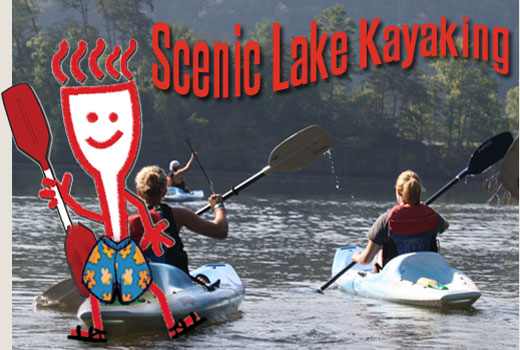 Scenic Lake Kayaking