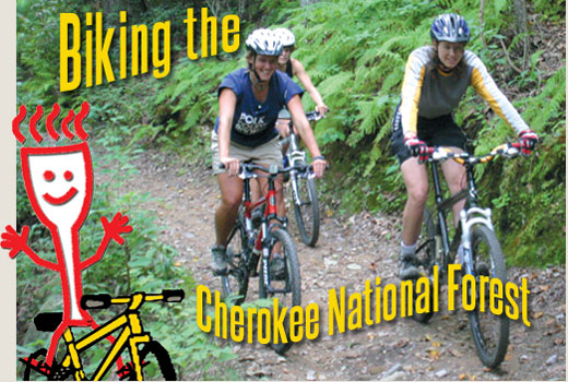 Biking the Cherokee National Forrest