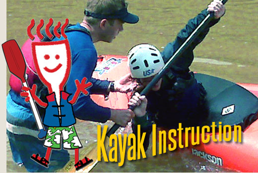 Ocoee River Kayaking Instruction