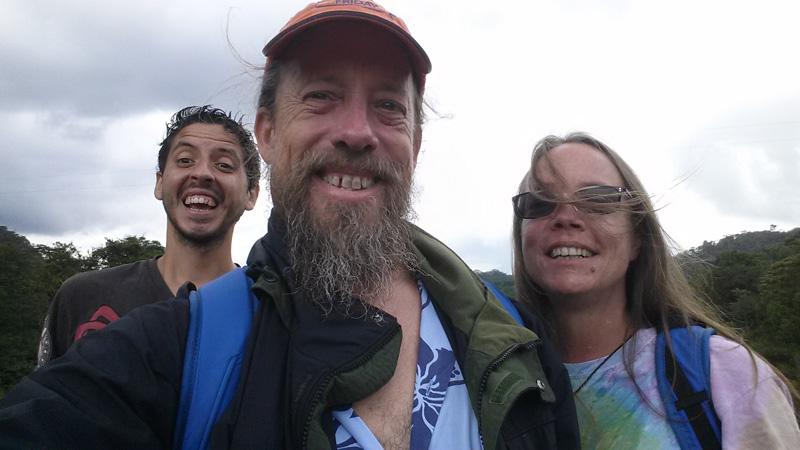 Our group photo on bridge