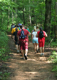 Ocoee River Area Hiking Trips