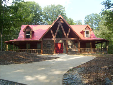 Luxury North Georgia Cabin Rentals In The Mountains Of Ellijay. E3