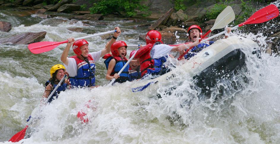 Oocee River Rafting