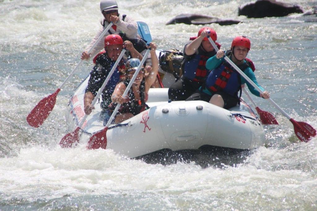 Should I raft The Middle Ocoee River or The Upper Ocoee River?