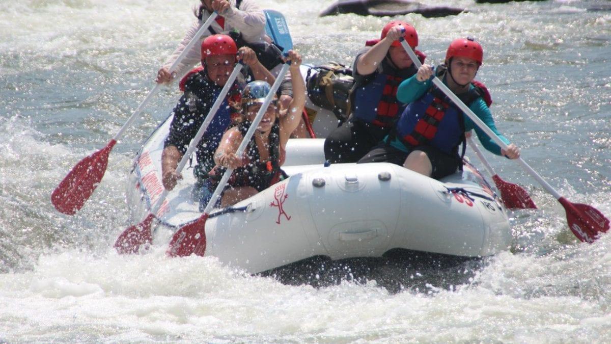 River ocoee rafting what to wear video