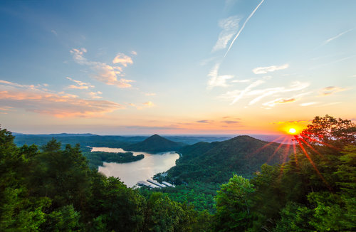 Chilhowee Overlook