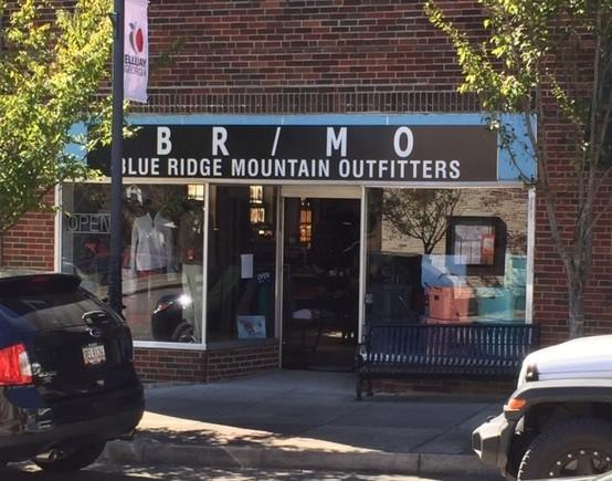 Blue Ridge Mountain Outfitters store front