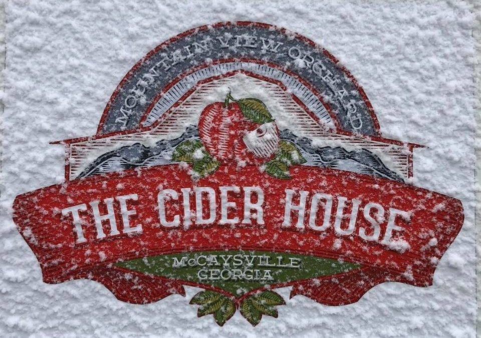 The Cider House sign