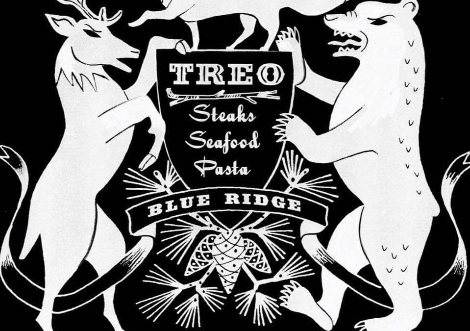 Treo Blue Ridge sign