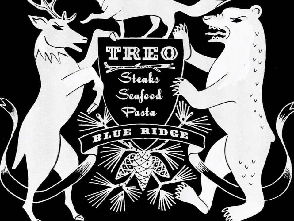 Treo Blue Ridge sign