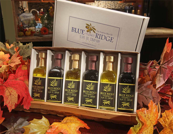 Blue Ridge Olive Oil Company oils