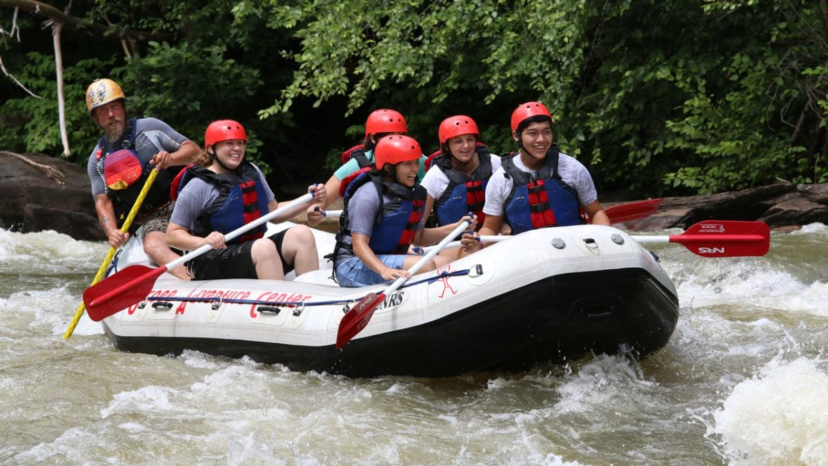 Tennessee whitewater rafting on the Ocoee River