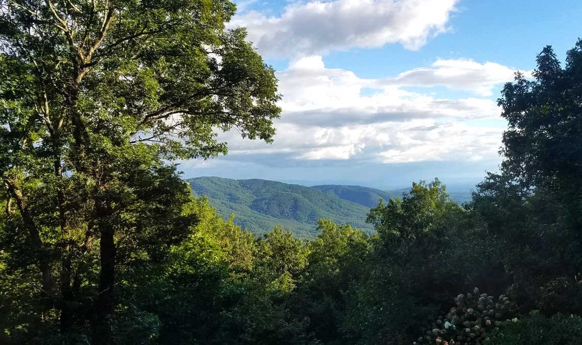 Enjoy this view at Overlook Inn