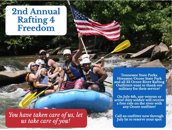 Veterans and Active Duty Service Members Raft Free