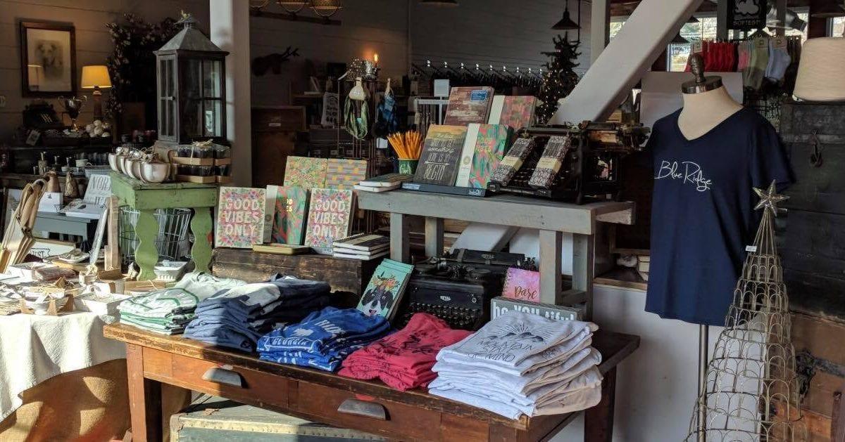 Blue Ridge Cotton Company store front